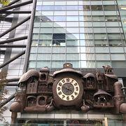 宮崎駿監督デザインの大時計