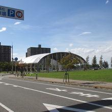 大型テント広場 (サンポート高松)