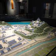 犬山城と城下町の大きなジオラマが良かったです。