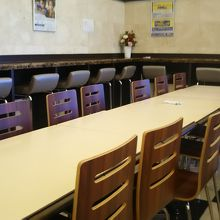 食事スペース。