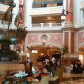 シー直結のラグジュアリーホテル
