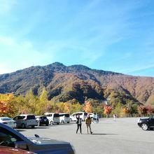 平湯大滝駐車場
