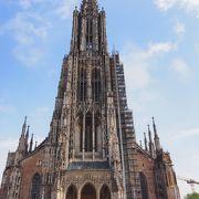 大聖堂見たさにウルムに立ち寄りました。