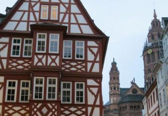 2017年5月 Mainz マインツ Weinhaus Zum Spiegel ヴァインハウス ツム シュピーゲル 心の安らぎ旅行♪