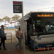 バスターミナル(チェスキー ブジョヴィツェ)
