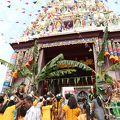 写真:ヒンドゥー寺院 (ジョホールバル)