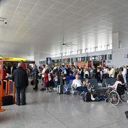 初利用のブエリング航空遅れずにバルセロナへ