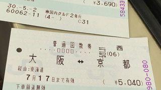 チケットショップ (トーカイ京都駅前店)