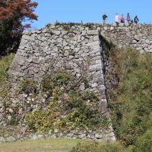 城の最高所「三十間台」から城下町津和野を一望でき、眺望が素晴らしいです。
