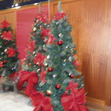 デパートのクリスマスツリー