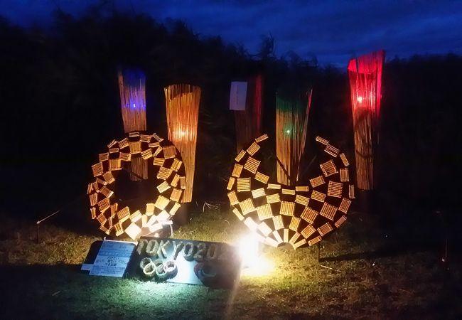 ヨシ灯り展 西の湖