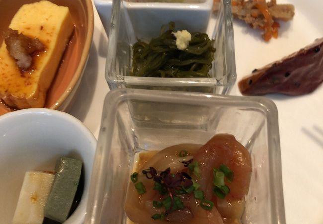 日本料理は美味しい
