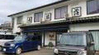 寿司民宿 長浜荘・魚道場 <佐渡島>