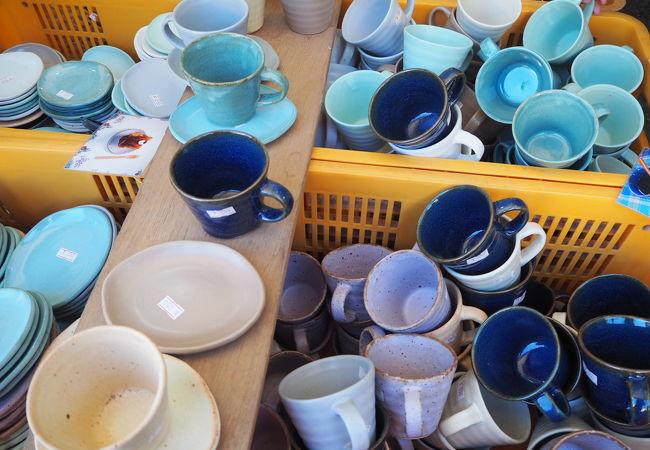念願の益子陶器市