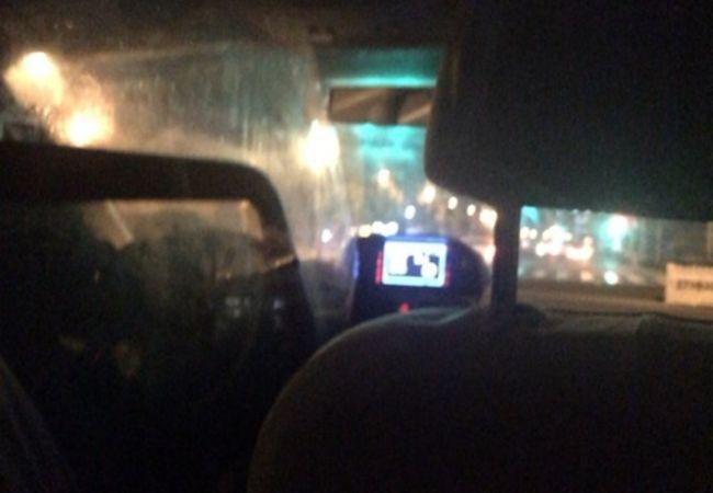 上海でタクシー