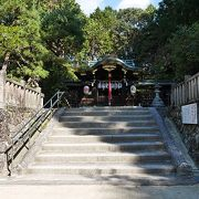 一乗寺下り松の古木が置いてある神社