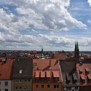 ニュルンベルクの街を見晴らす城