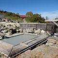 紅葉の混浴野天風呂と「ふけの湯温泉」