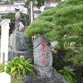 写真:太田道灌公の碑