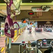 マカオ滞在中に毎日バスを利用していました。