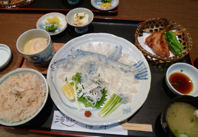 ふぐ料理専門店 海鮮