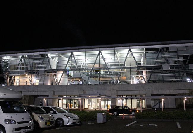 近代的な外観のターミナル