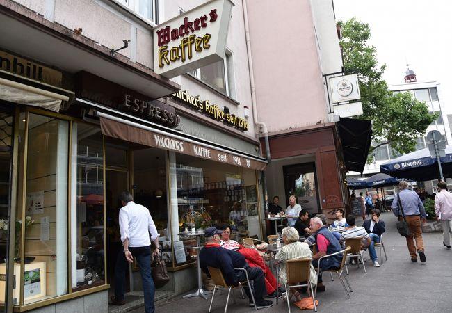 ヴァッカーズカフェ (コルンマルクト店)