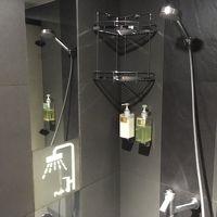 シャワー個室にはボディーソープ、シャンプー、リンス有り。