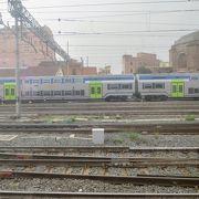 やや複雑なフィレンツェ近郊鉄道網