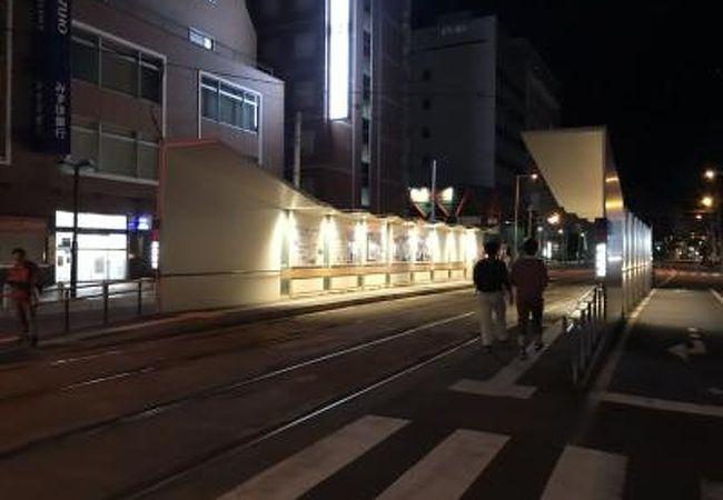 函館市電 函館駅前停留場