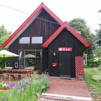 可愛い赤い屋根