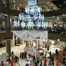 11月中旬…すでに店内はクリスマスムードになっていました