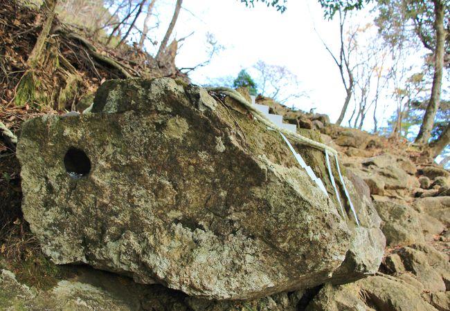 天狗の鼻突岩