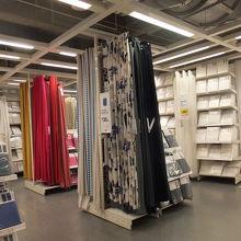 IKEA:カーテン売り場