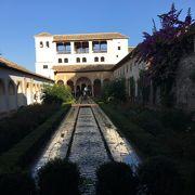 素朴で美しい庭園『ヘネラリフェ庭園』