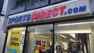スポーツダイレクト (ロンドン オックスフォード ストリート プラザ店)