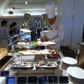 エクシブ伊豆 南欧料理 改め 鉄板ブッフェ ラペールの夕食