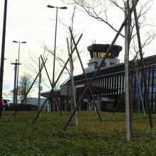 空港ターミナルです
