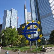 ユーロマークは写真スポット