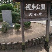 銅像が建ち並ぶ公園