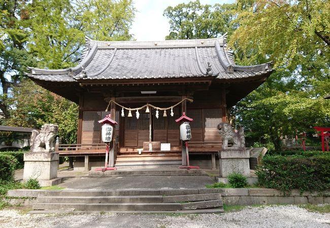 山里丸にある神社