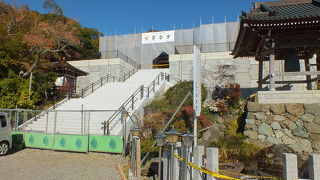筑波山神社の隣の寺院