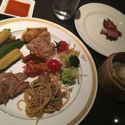 アジア料理が豊富なブッフェ