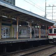近鉄奈良の一駅手前