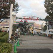 JR本八幡駅前から無料のシャトルバスが運行されています
