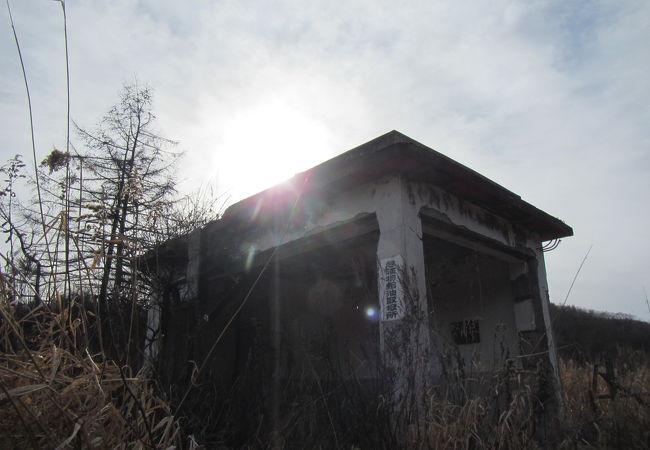 尺別炭鉱跡