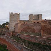 アルハンブラ宮殿の中の要塞