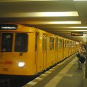 市内の移動に便利な地下鉄です。