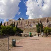 アテネ観光の中心