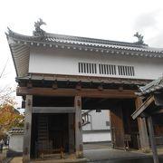 掛川城大手門
